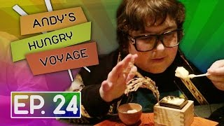 Hidden Camera in Fancy Kaiseki Restaurant! | Andy's Hungry Voyage