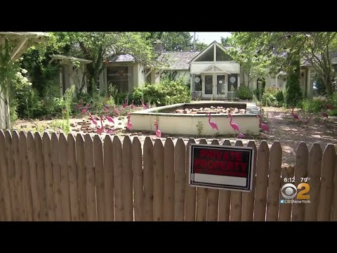 Courtyard Mess On Private Property Sparks Debate In Hamptons