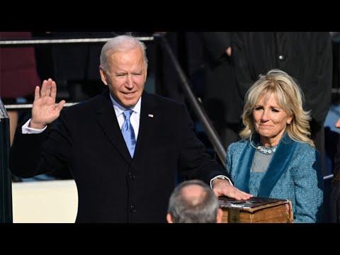 LIVE: Joe Biden sworn in as US President on Inauguration Day 2021 - watch live