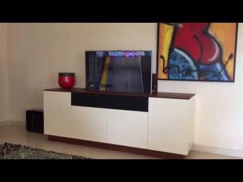Tv Lift Kast : Meubel met tv lift youtube