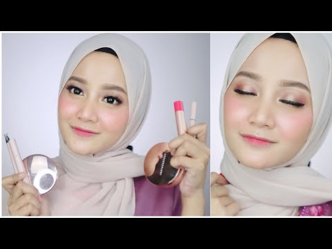Makeup Lebaran Mewah Pake Produk Lokal | Wardah Instaperfect | Linda Kayhz thumbnail