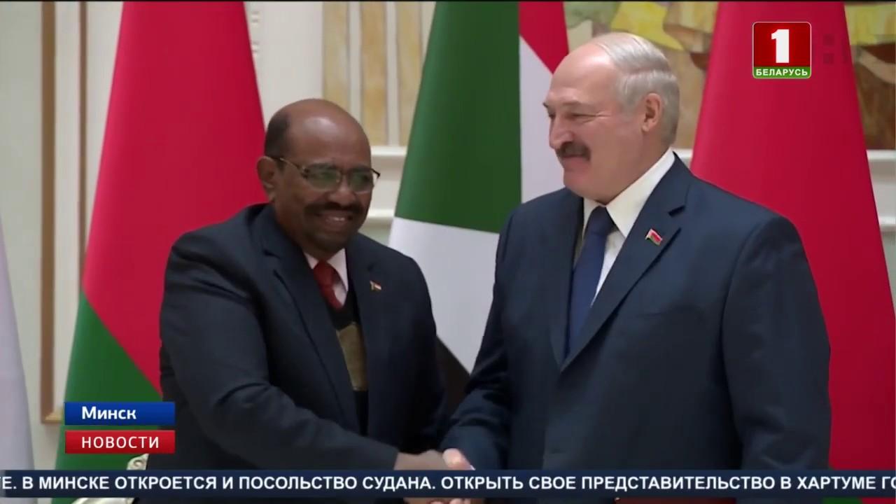 Во Дворце Независимости прошли официальные переговоры Президентов Беларуси и Судана