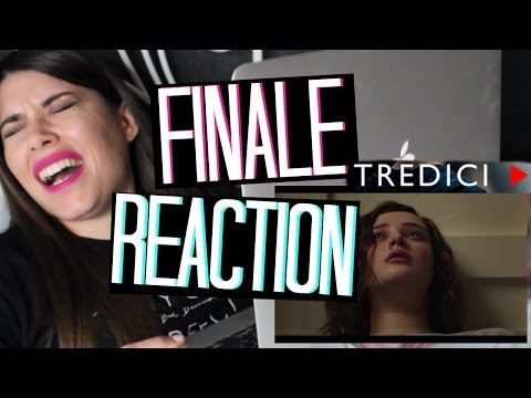 13 REASONS WHY   FINALE REACTION [1x13]   Adriana Spink