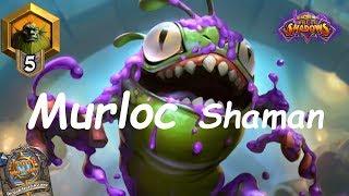 Hearthstone: Murloc Shaman #1: Rise of Shadows - Standard Constructed
