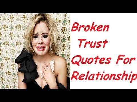 Broken Trust Quotes For Relationships 2