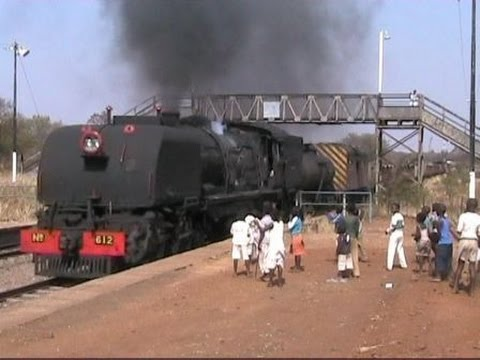 Zimbabwe - Garratt Freight to Cement 2005, Part One