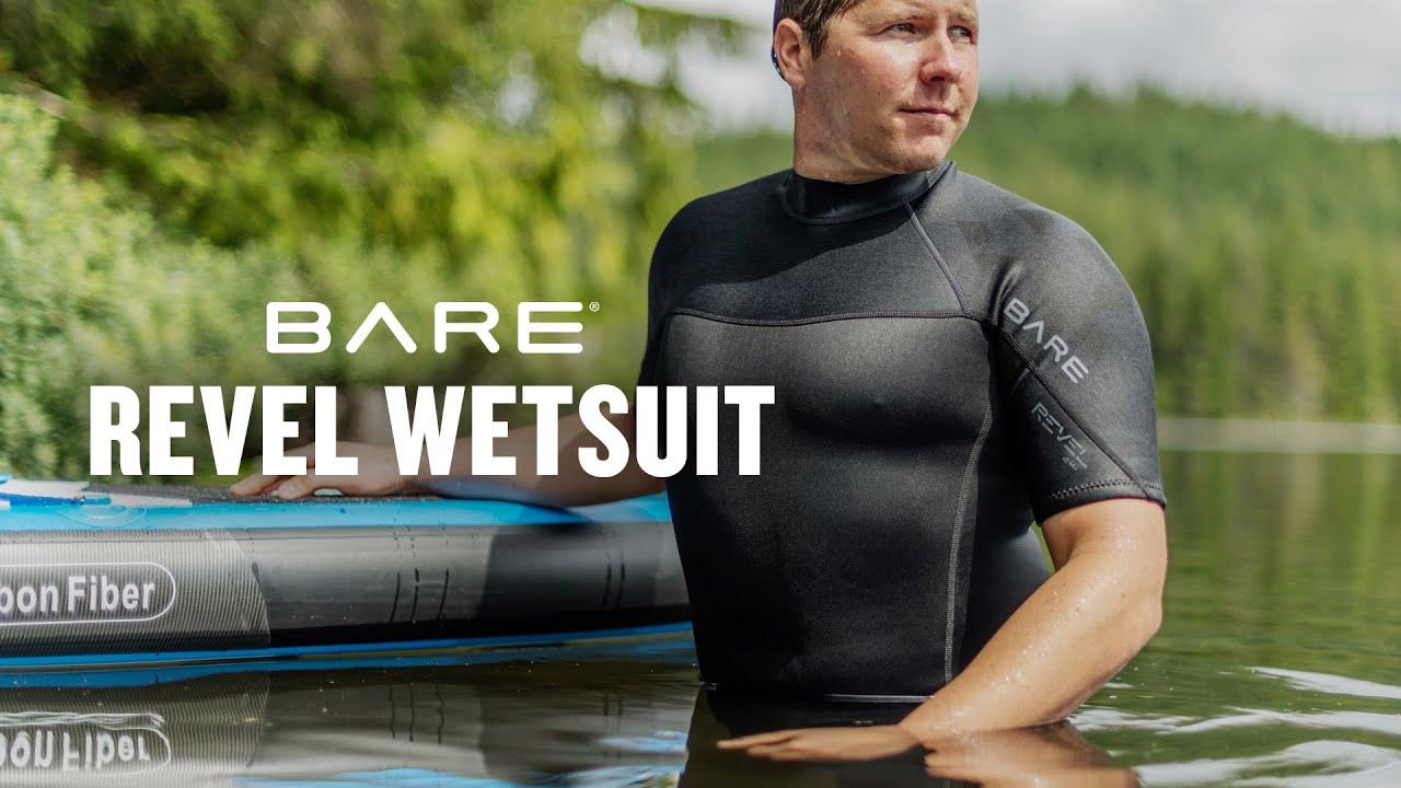 Small BARE Men/'s 5mm Revel Full Wetsuit