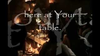 here at your table with holy is he the last supper