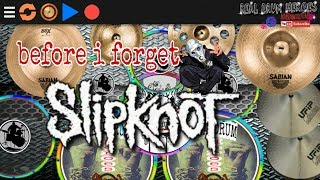 Slipknot - BEFORE I FORGET versi real drum cover
