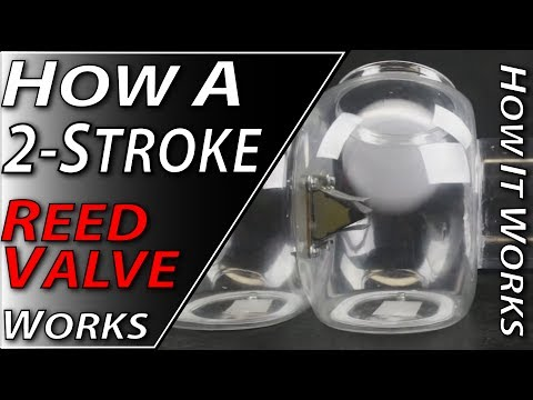 How A 2-Stroke Reed Valve Works | Fix Your Dirt Bike com - YouTube