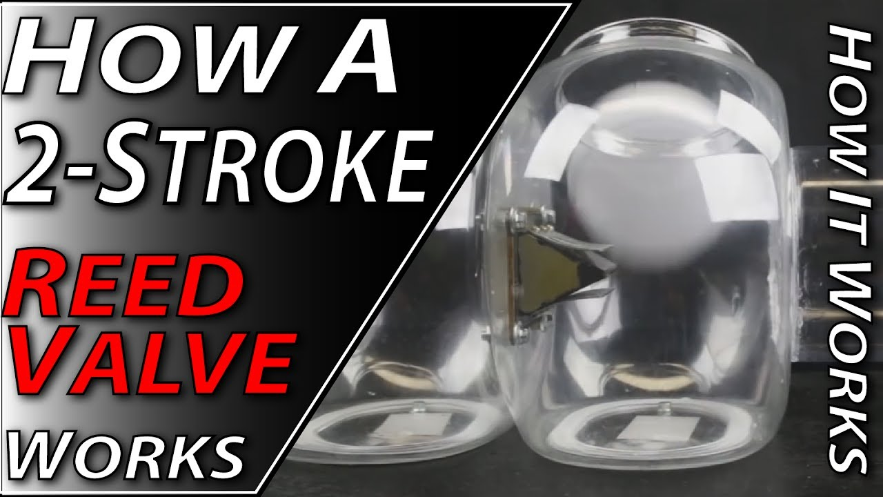 How A 2-Stroke Reed Valve Works | Fix Your Dirt Bike com