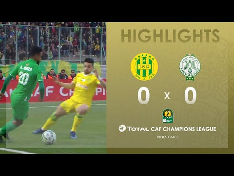 JS Kabylie 0-0 Raja Club Athletic  | HIGHLIGHTS | Match Day 4 | TotalCAFCL