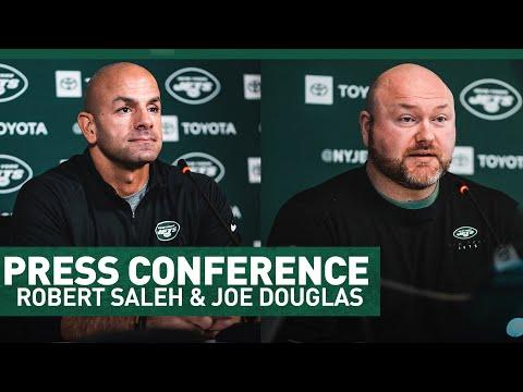 Robert Saleh & Joe Douglas Full Press Conference (3/3) | New York Jets | NFL