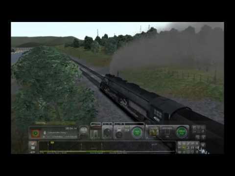 TS.2017 (Train Sim) Union Pacific 4-8-8-4 Big Boy Steam Locomotive Test-Run