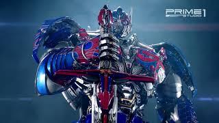 Prime1studio: Optimus Prime  Transformers: The Last Knight  Statue