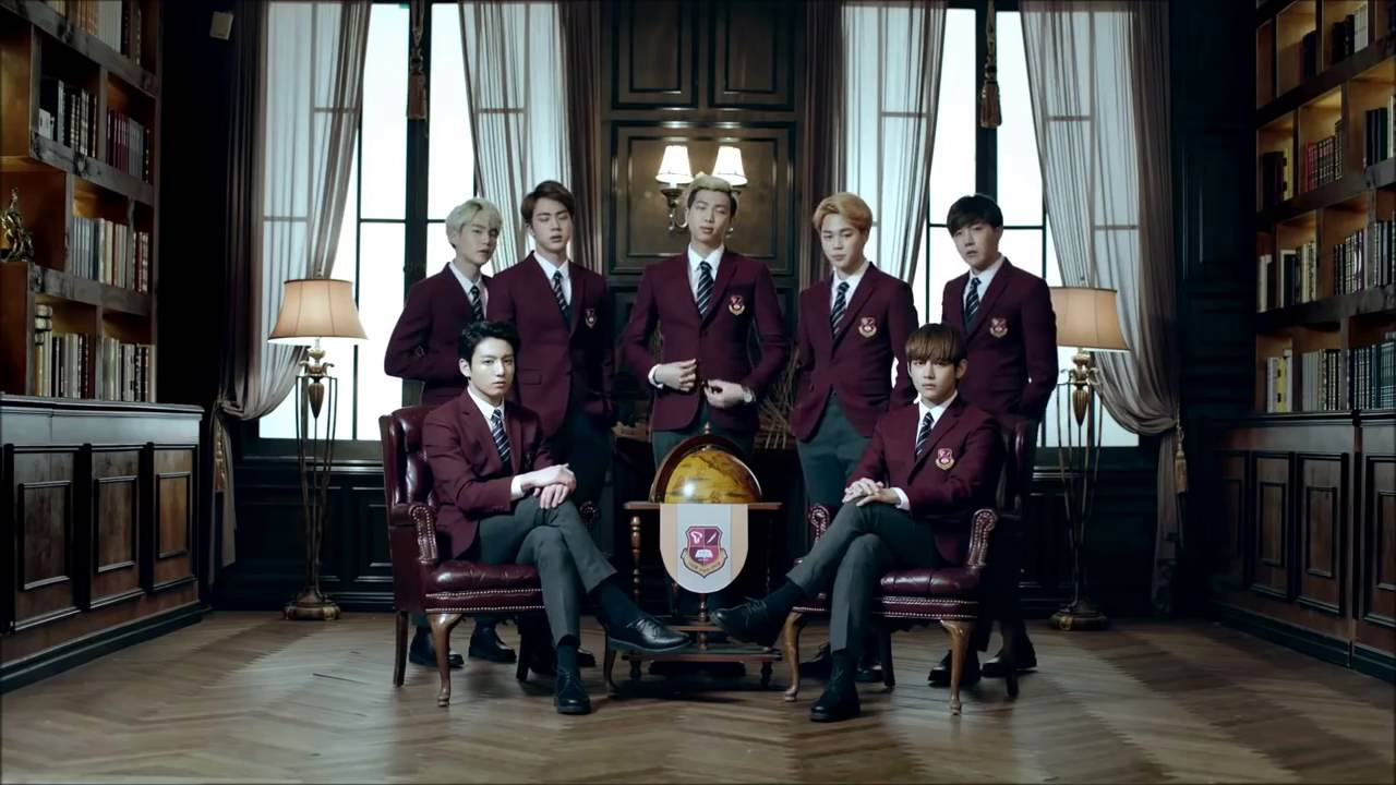 BTS (Bangtan Boys) SK TV commercial AD 2016, Song by ...