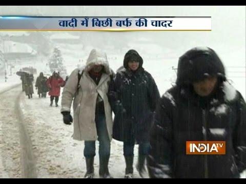 Fresh Snowfall Covers Kashmir Valley