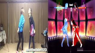 Just Dance 2014 - She Wolf VS Where Have You Been (10 Star Gameplay)