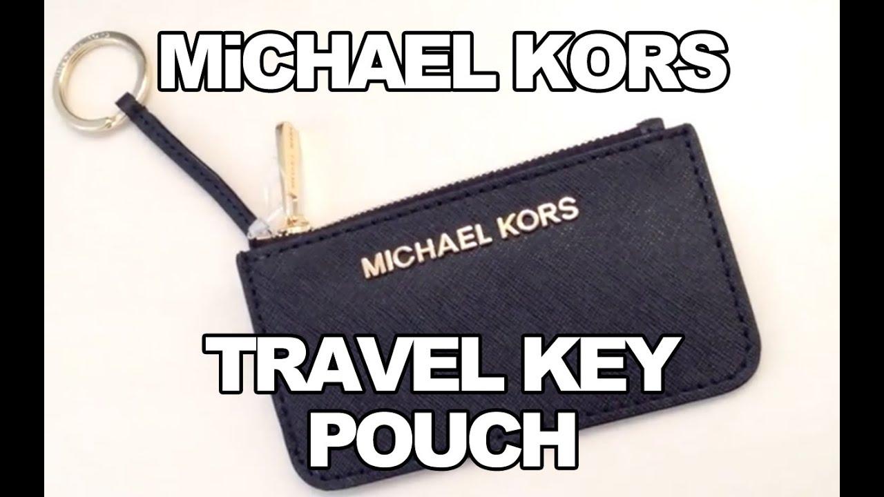 3df060ae9632 MiCHAEL KORS JET SET TRAVEL KEY POUCH REViEW - YouTube