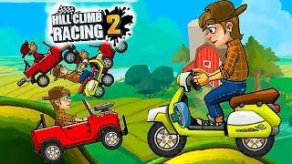 HILL CLIMB RACING 2 Билл Возвращается - Прохождение Чумовых гонок про Машинки для детей Хилл Климб 2