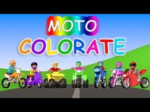 Moto Colorate - AlexKidsTV