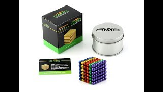 How to play with OMO colorful Magnetic Balls, how many different shapes can  OMO buckyballs be made.