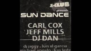 Carl cox live@X- CLUB sun dance, kadoc club, Portugal 01 04 1999