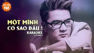 Một minhg có sao đâu - Đàm Vĩnh Hưng - Karaoke ( có rap )