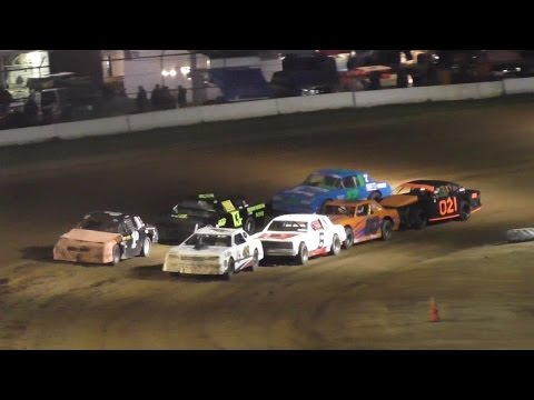 Pure Stock B-Main One | McKean County Raceway | Fall Classic | 10-14-16