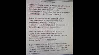 Chinland Hrangah-Karaoke