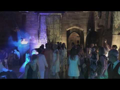 Wedding DJ @ Peckforton Castle