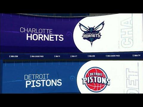 Detroit Pistons beat Charlotte Hornets 102-90
