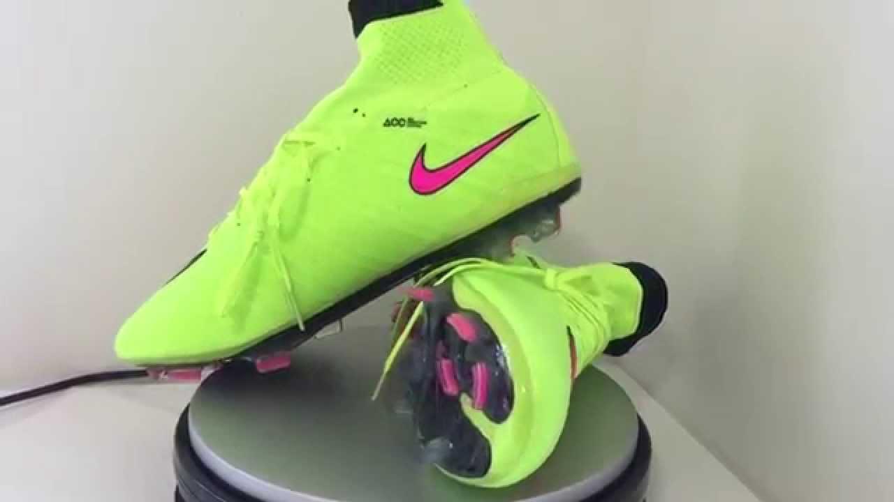 huge discount 15520 5cc46 Unboxing Nike Mercurial Superfly IV FG Volt Hyper Pink Black  2018-Footyaustralia.com