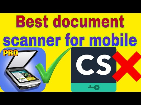 The Best Doccument Scanner App For Mobile