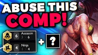 THE #1 COMP FOR RANKED HAS BEEN DISCOVERED! ABUSE IT BEFORE NERFS! | Teamfight Tactics