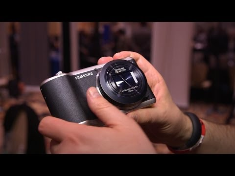 Samsung Galaxy Camera 2 Hands On - CES 2014
