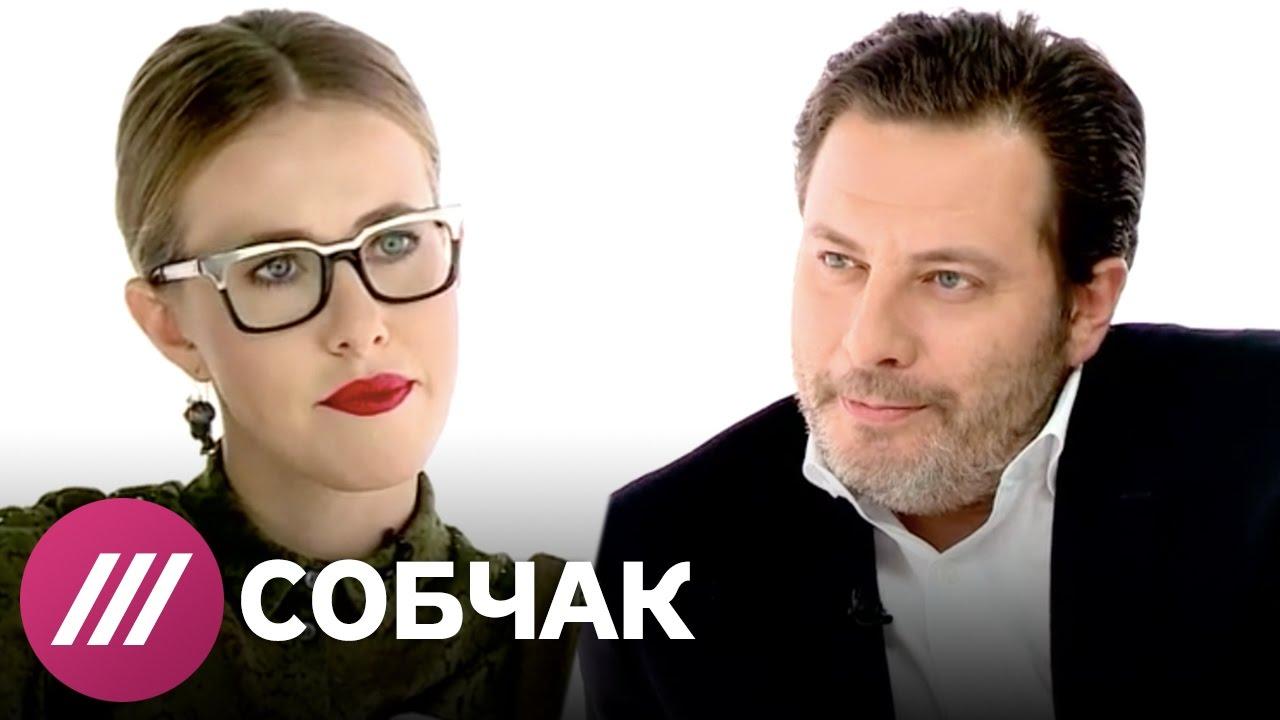 Новый главред Esquire Сергей Минаев в программе Собчак