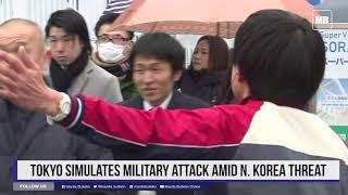 Tokyo simulates military attack amid N. Korea threat