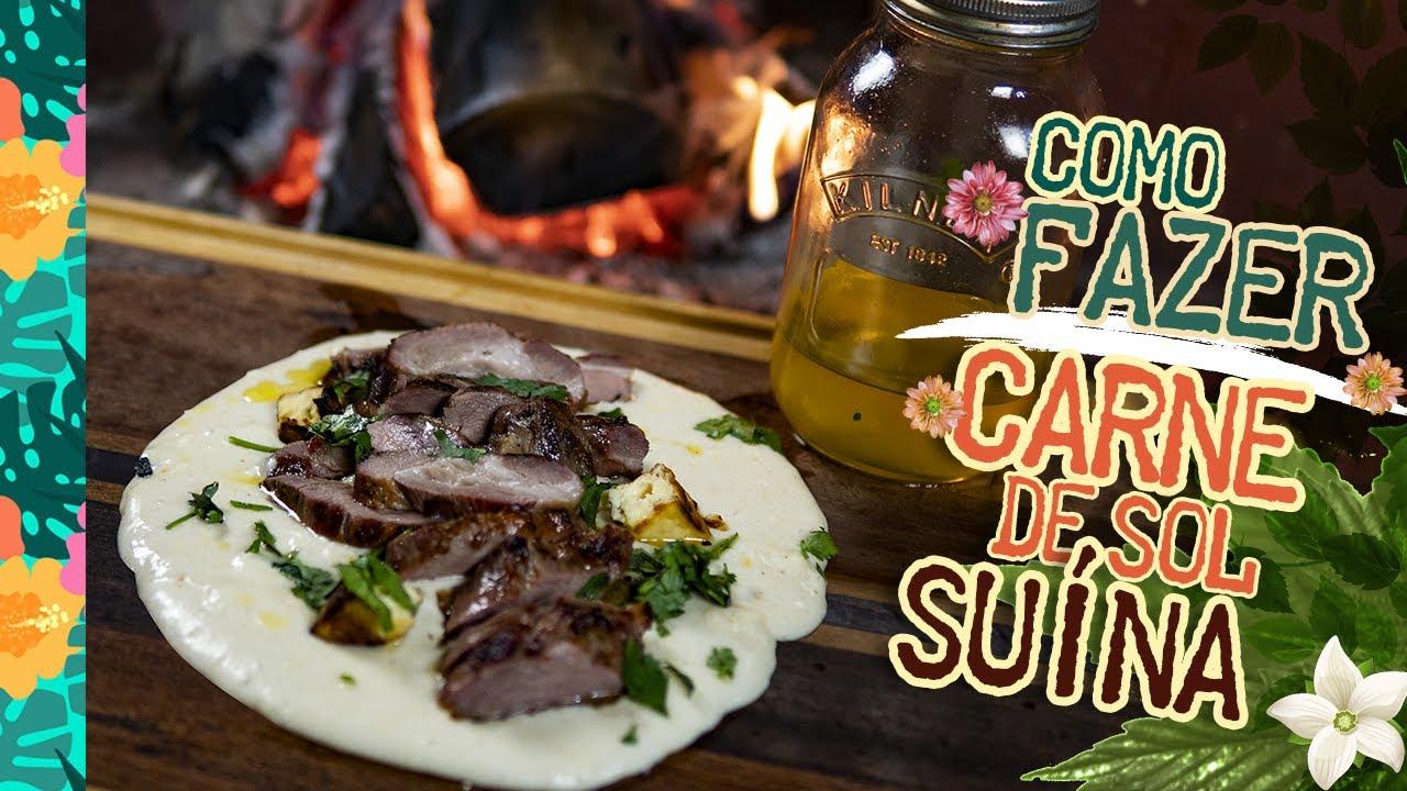 Carne de Sol Suína (receita de carne de sol com Pirão de Leite) - Cansei de ser chef