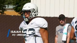 BYU Football - Fall Camp - August 13, 2019 - Isaiah Kaufusi Mic'd Up