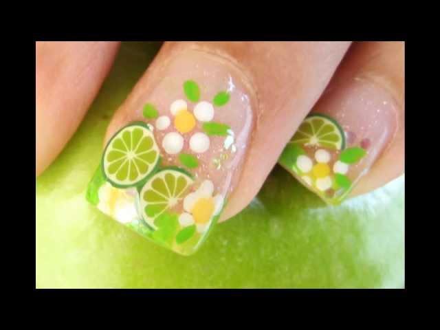 Crea tus propias uñas frutales con Fimo - VIX