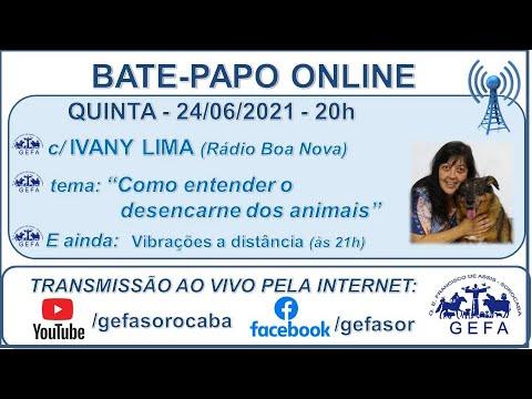 Assista: Palestra Online - c/ IVANY LIMA (24/06/2021)