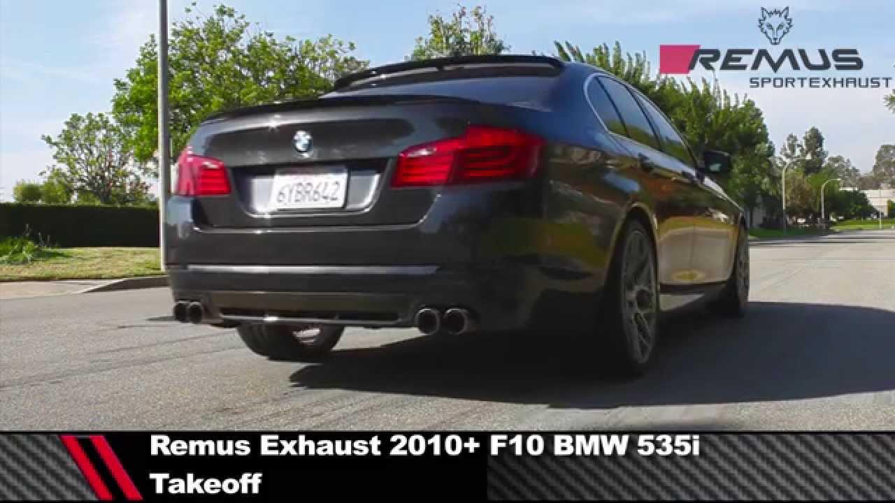 remus exhaust 2010 bmw f10 535i cat back exhaust modbargains