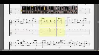[Guitar TAB] Căn phòng băng