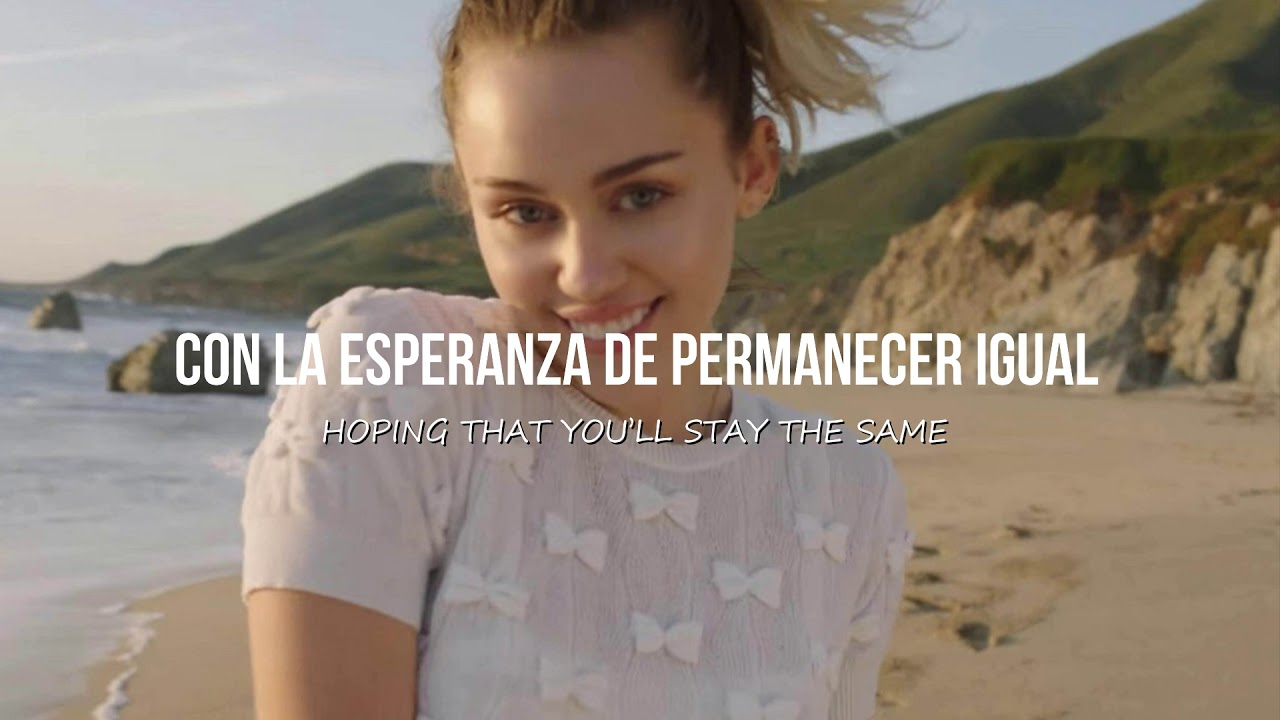 malibu miley cyrus sub español ingles youtube