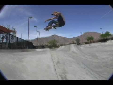Jason Morgan and Falco Baltys Skateboarding Borrego