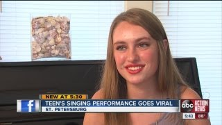 Emma Robinson's viral video singing performance of Rihanna's song 'Stay,' is not autotune