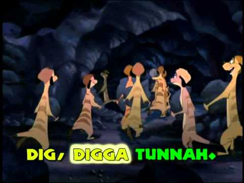 Disney Karaoke - Digga Tunnah (The Lion King 1 1/2)