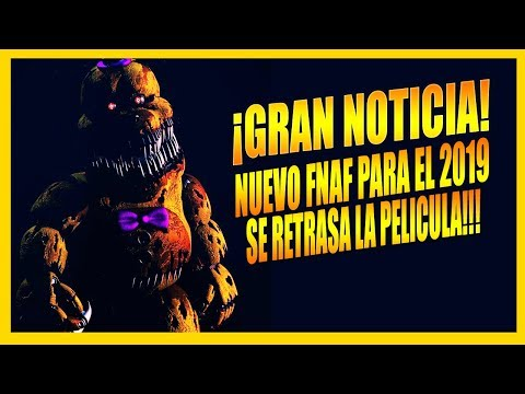¡Gran Noticia! | Próximos Proyectos De Five Nights at Freddy's 2019 & 2020 | Nuevo Juego & Película thumbnail