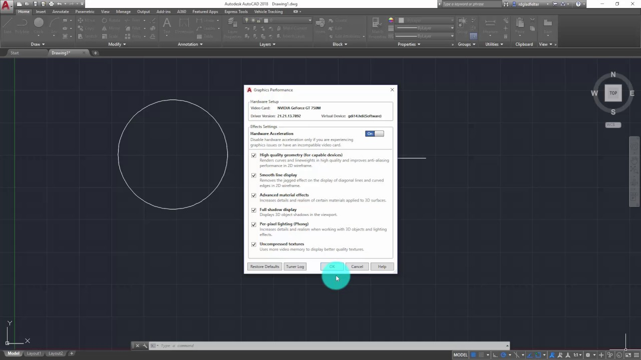 AutoCAD 2018 Quick Tip: Disabling Selection Highlighting